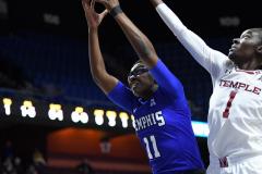 NCAA Women's Basketball AAC Tournament - #6 Temple 58 vs #11 Memphis 59 (16)