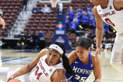 NCAA Women's Basketball AAC Tournament - #6 Temple 58 vs #11 Memphis 59 (19)
