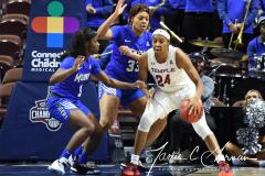 NCAA Women's Basketball AAC Tournament - #6 Temple 58 vs #11 Memphis 59 (25)