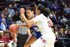 NCAA Women's Basketball AAC Tournament - #6 Temple 58 vs #11 Memphis 59 (27)