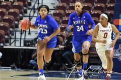 NCAA Women's Basketball AAC Tournament - #6 Temple 58 vs #11 Memphis 59 (32)
