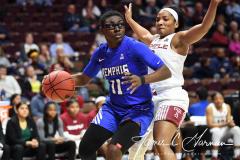 NCAA Women's Basketball AAC Tournament - #6 Temple 58 vs #11 Memphis 59 (34)