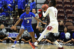 NCAA Women's Basketball AAC Tournament - #6 Temple 58 vs #11 Memphis 59 (41)