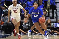 NCAA Women's Basketball AAC Tournament - #6 Temple 58 vs #11 Memphis 59 (42)