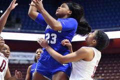 NCAA Women's Basketball AAC Tournament - #6 Temple 58 vs #11 Memphis 59 (44)