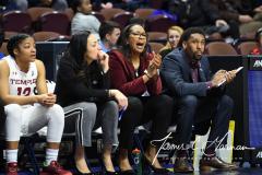 NCAA Women's Basketball AAC Tournament - #6 Temple 58 vs #11 Memphis 59 (45)