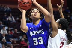 NCAA Women's Basketball AAC Tournament - #6 Temple 58 vs #11 Memphis 59 (46)