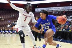NCAA Women's Basketball AAC Tournament - #6 Temple 58 vs #11 Memphis 59 (47)