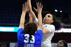 NCAA Women's Basketball AAC Tournament - #6 Temple 58 vs #11 Memphis 59 (61)