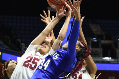 NCAA Women's Basketball AAC Tournament - #6 Temple 58 vs #11 Memphis 59 (65)