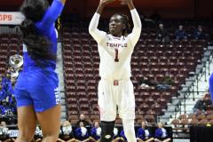 NCAA Women's Basketball AAC Tournament - #6 Temple 58 vs #11 Memphis 59 (66)