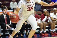 NCAA Women's Basketball AAC Tournament - #6 Temple 58 vs #11 Memphis 59 (68)