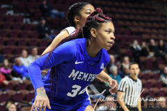 NCAA Women's Basketball AAC Tournament - #6 Temple 58 vs #11 Memphis 59 (69)