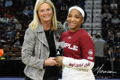 NCAA Women's Basketball AAC Tournament - #6 Temple 58 vs #11 Memphis 59 (7)