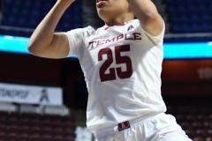 NCAA Women's Basketball AAC Tournament - #6 Temple 58 vs #11 Memphis 59 (73)
