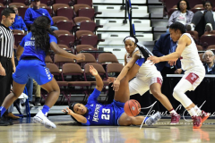 NCAA Women's Basketball AAC Tournament - #6 Temple 58 vs #11 Memphis 59 (74)