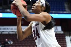 NCAA Women's Basketball AAC Tournament - #6 Temple 58 vs #11 Memphis 59 (76)