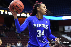 NCAA Women's Basketball AAC Tournament - #6 Temple 58 vs #11 Memphis 59 (77)