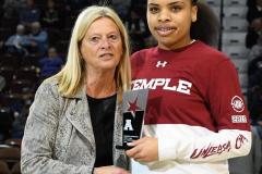 NCAA Women's Basketball AAC Tournament - #6 Temple 58 vs #11 Memphis 59 (8)