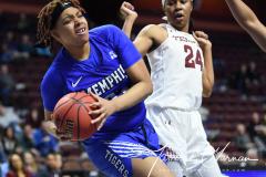 NCAA Women's Basketball AAC Tournament - #6 Temple 58 vs #11 Memphis 59 (81)