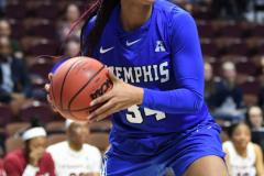 NCAA Women's Basketball AAC Tournament - #6 Temple 58 vs #11 Memphis 59 (82)