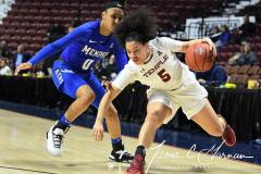 NCAA Women's Basketball AAC Tournament - #6 Temple 58 vs #11 Memphis 59 (83)