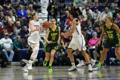 NCAA Women's Basketball - AAC Tournament Finals - #1 UConn 100 vs. #3 USF 44 (100)