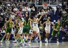 NCAA Women's Basketball - AAC Tournament Finals - #1 UConn 100 vs. #3 USF 44 (111)