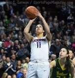 NCAA Women's Basketball - AAC Tournament Finals - #1 UConn 100 vs. #3 USF 44 (112)