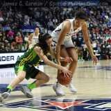 NCAA Women's Basketball - AAC Tournament Finals - #1 UConn 100 vs. #3 USF 44 (115)