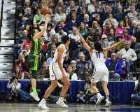 NCAA Women's Basketball - AAC Tournament Finals - #1 UConn 100 vs. #3 USF 44 (119)