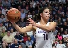 NCAA Women's Basketball - AAC Tournament Finals - #1 UConn 100 vs. #3 USF 44 (126)