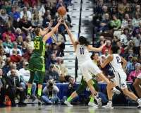 NCAA Women's Basketball - AAC Tournament Finals - #1 UConn 100 vs. #3 USF 44 (127)