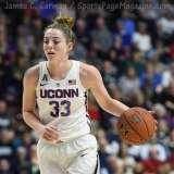 NCAA Women's Basketball - AAC Tournament Finals - #1 UConn 100 vs. #3 USF 44 (128)