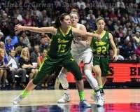 NCAA Women's Basketball - AAC Tournament Finals - #1 UConn 100 vs. #3 USF 44 (135)