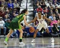 NCAA Women's Basketball - AAC Tournament Finals - #1 UConn 100 vs. #3 USF 44 (142)