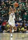 NCAA Women's Basketball - AAC Tournament Finals - #1 UConn 100 vs. #3 USF 44 (145)