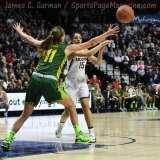 NCAA Women's Basketball - AAC Tournament Finals - #1 UConn 100 vs. #3 USF 44 (146)