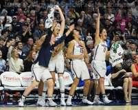 NCAA Women's Basketball - AAC Tournament Finals - #1 UConn 100 vs. #3 USF 44 (151)