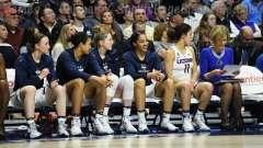 NCAA Women's Basketball - AAC Tournament Finals - #1 UConn 100 vs. #3 USF 44 (153)