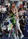 NCAA Women's Basketball - AAC Tournament Finals - #1 UConn 100 vs. #3 USF 44 (160)