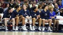 NCAA Women's Basketball - AAC Tournament Finals - #1 UConn 100 vs. #3 USF 44 (163)