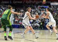 NCAA Women's Basketball - AAC Tournament Finals - #1 UConn 100 vs. #3 USF 44 (164)