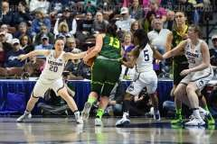 NCAA Women's Basketball - AAC Tournament Finals - #1 UConn 100 vs. #3 USF 44 (171)