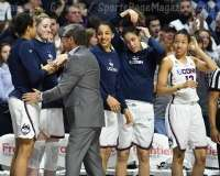 NCAA Women's Basketball - AAC Tournament Finals - #1 UConn 100 vs. #3 USF 44 (183)