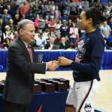 NCAA Women's Basketball - AAC Tournament Finals - #1 UConn 100 vs. #3 USF 44 (190)
