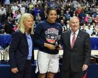 NCAA Women's Basketball - AAC Tournament Finals - #1 UConn 100 vs. #3 USF 44 (191)