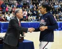 NCAA Women's Basketball - AAC Tournament Finals - #1 UConn 100 vs. #3 USF 44 (192)