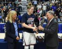 NCAA Women's Basketball - AAC Tournament Finals - #1 UConn 100 vs. #3 USF 44 (194)