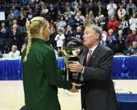 NCAA Women's Basketball - AAC Tournament Finals - #1 UConn 100 vs. #3 USF 44 (196)